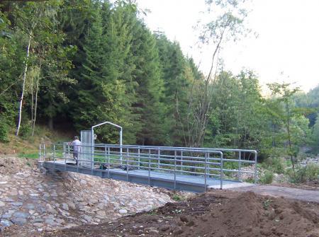 Brücke Staubecken Gottleuba